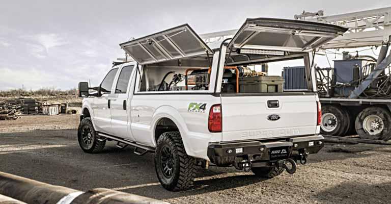 Deluxe Commercial Truck Cap