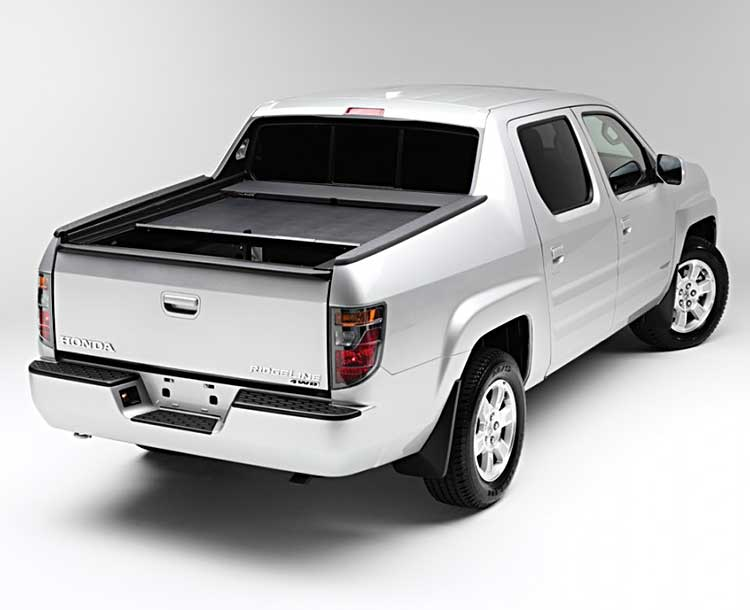 Hard Tonneau Back View