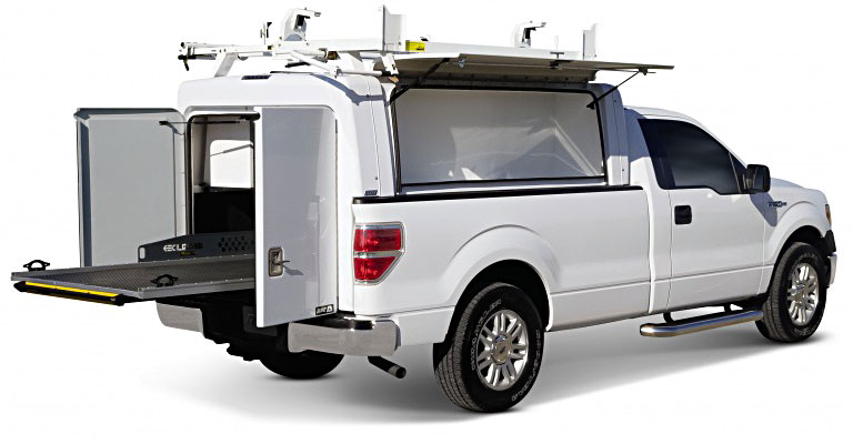 Site Commander Series Commercial Truck Caps